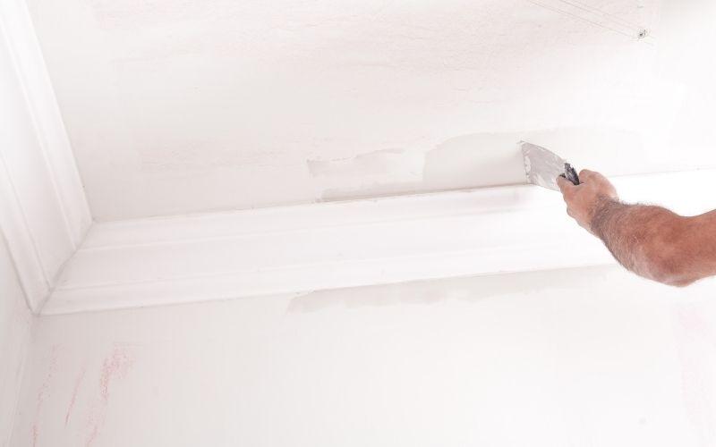 Rénovation de plafond à Niort