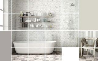 Pose de carrelage de douche - carreleur à Niort